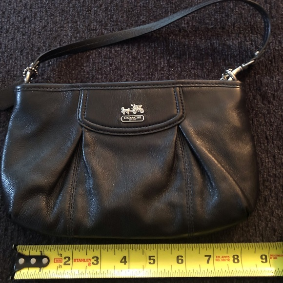 Coach Handbags - Large Authentic Coach Wristlet